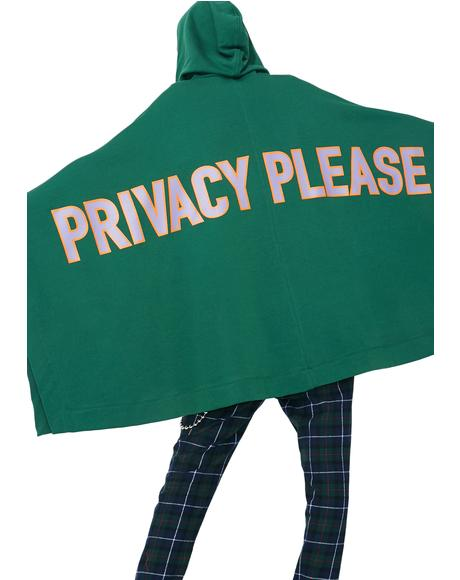 Privacy Please Poncho