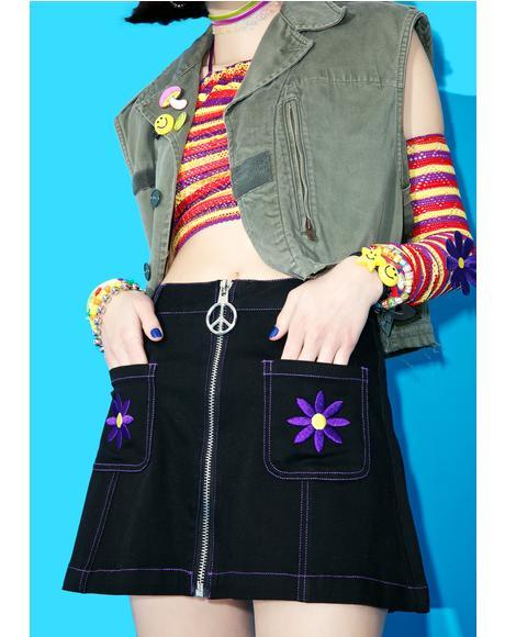 Aster Go-Go Skirt