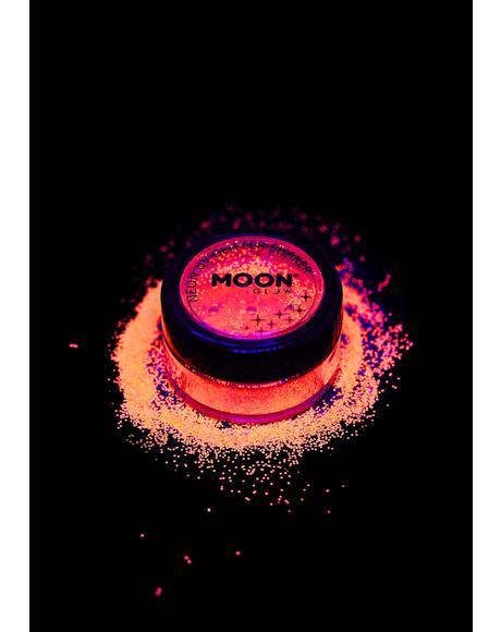Neon Orange UV Glitter Shaker