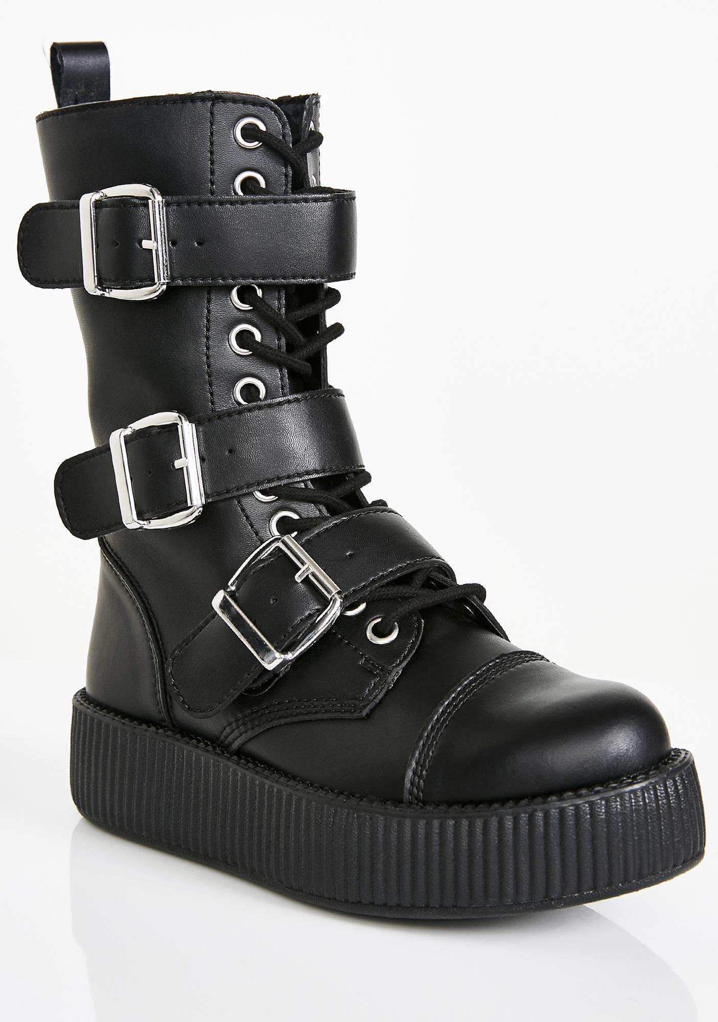 T.U.K. Viva Mondo Creeper Boots