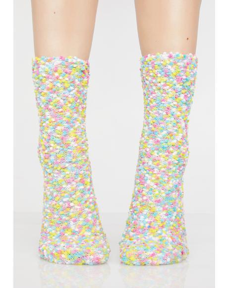 Happy Feet Fluffy Socks