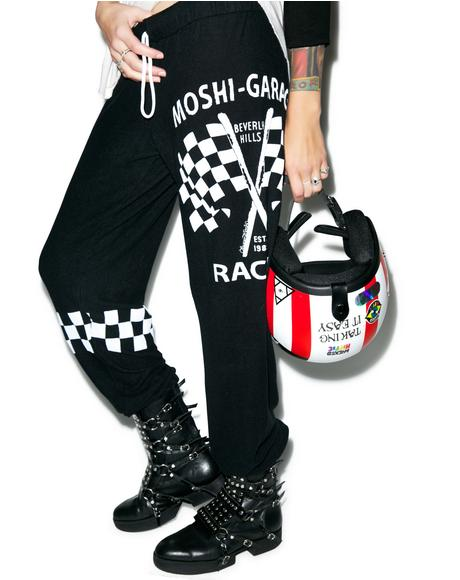 Tanzy Moshi Racing Sweatpants