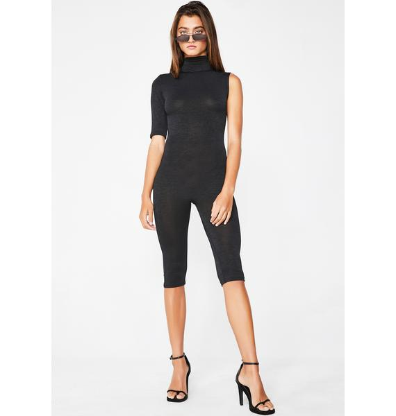 The K Label Asymmetrical Catsuit