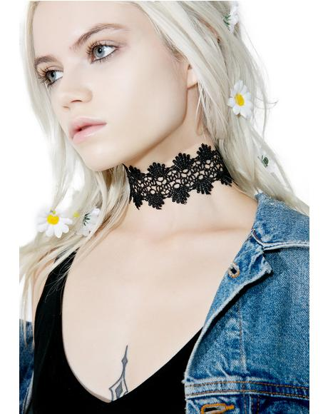Dark Wildflower Choker
