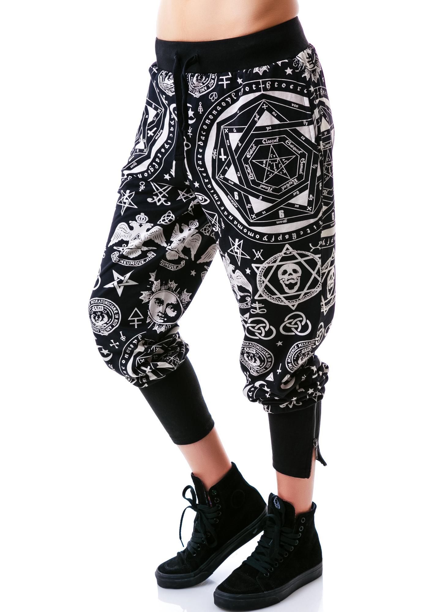 Killstar Occult Sweatpants