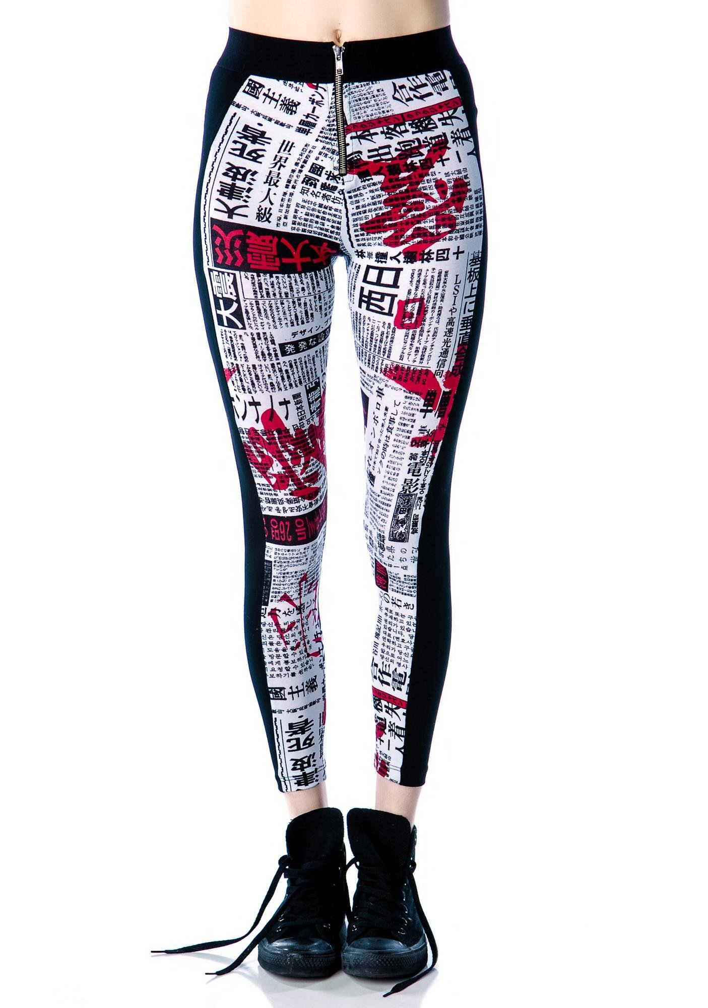 Lip Service Japanese Printed Leggings