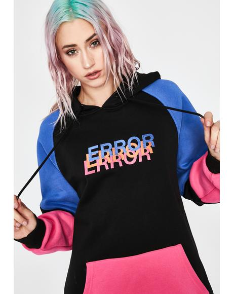 Trial N' Error Colorblock Hoodie