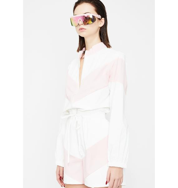 Street Candy Reflective Romper