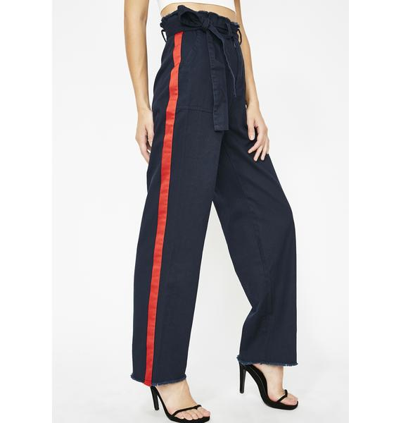 Royal In The Bag High Rise Pants