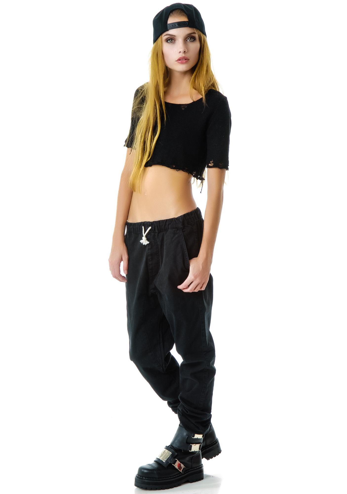 UNIF Canvas Sweats