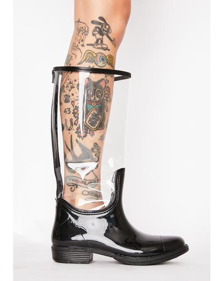 Whatever The Weather Clear Rain Boots