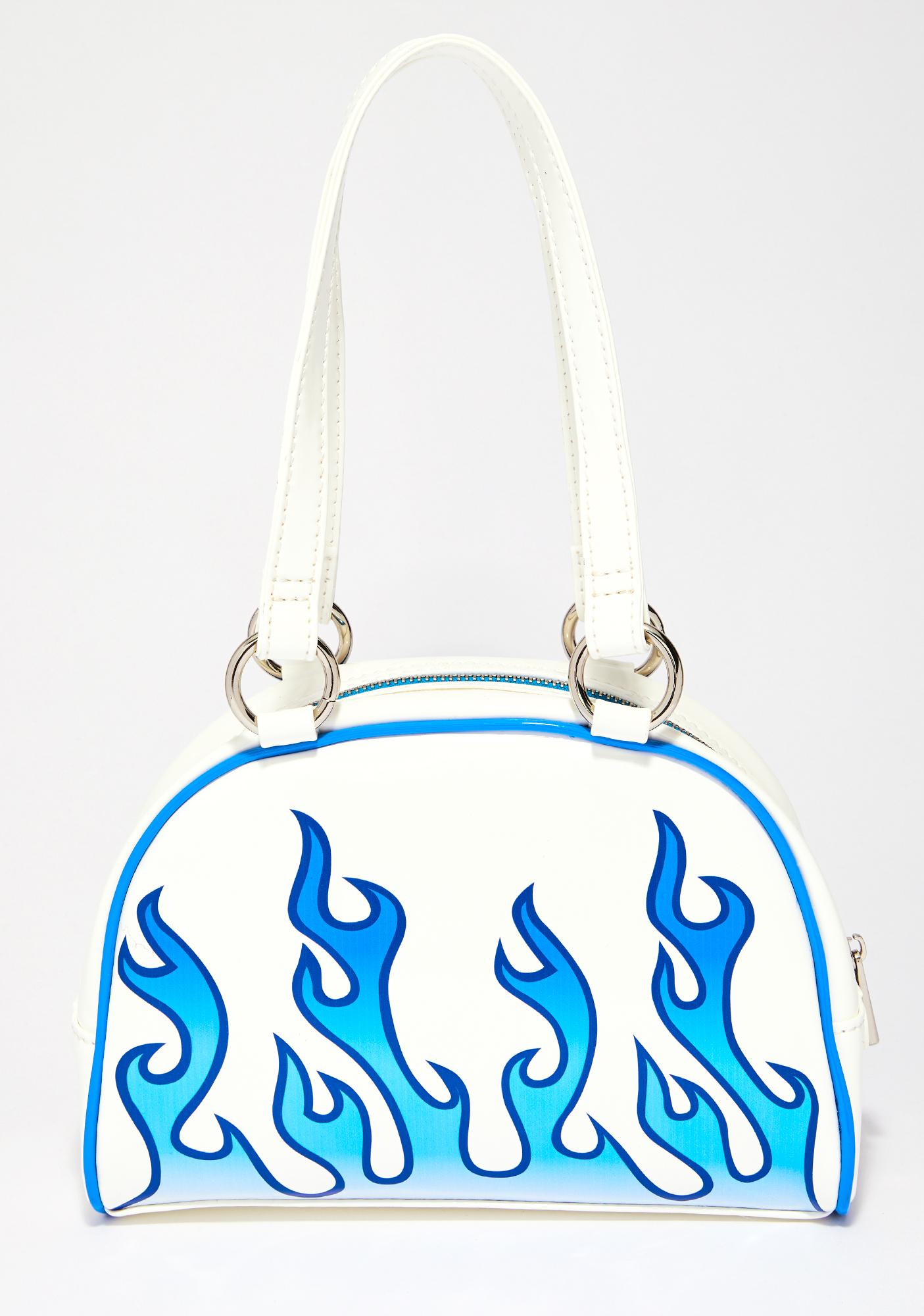 Current Mood Sapphire Flame Catcher Bowler Bag