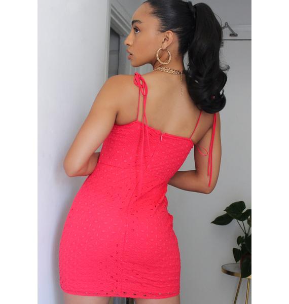Strawberry Mint Julep Bustier Dress