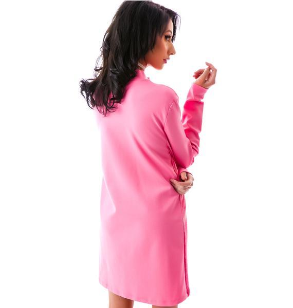 Dimepiece Dimepeice Real Men Wear Pink Dress