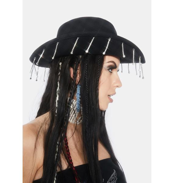 Bling Brigade Wide Brim Hat