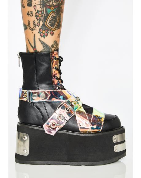 Trapdoor Platform Boots