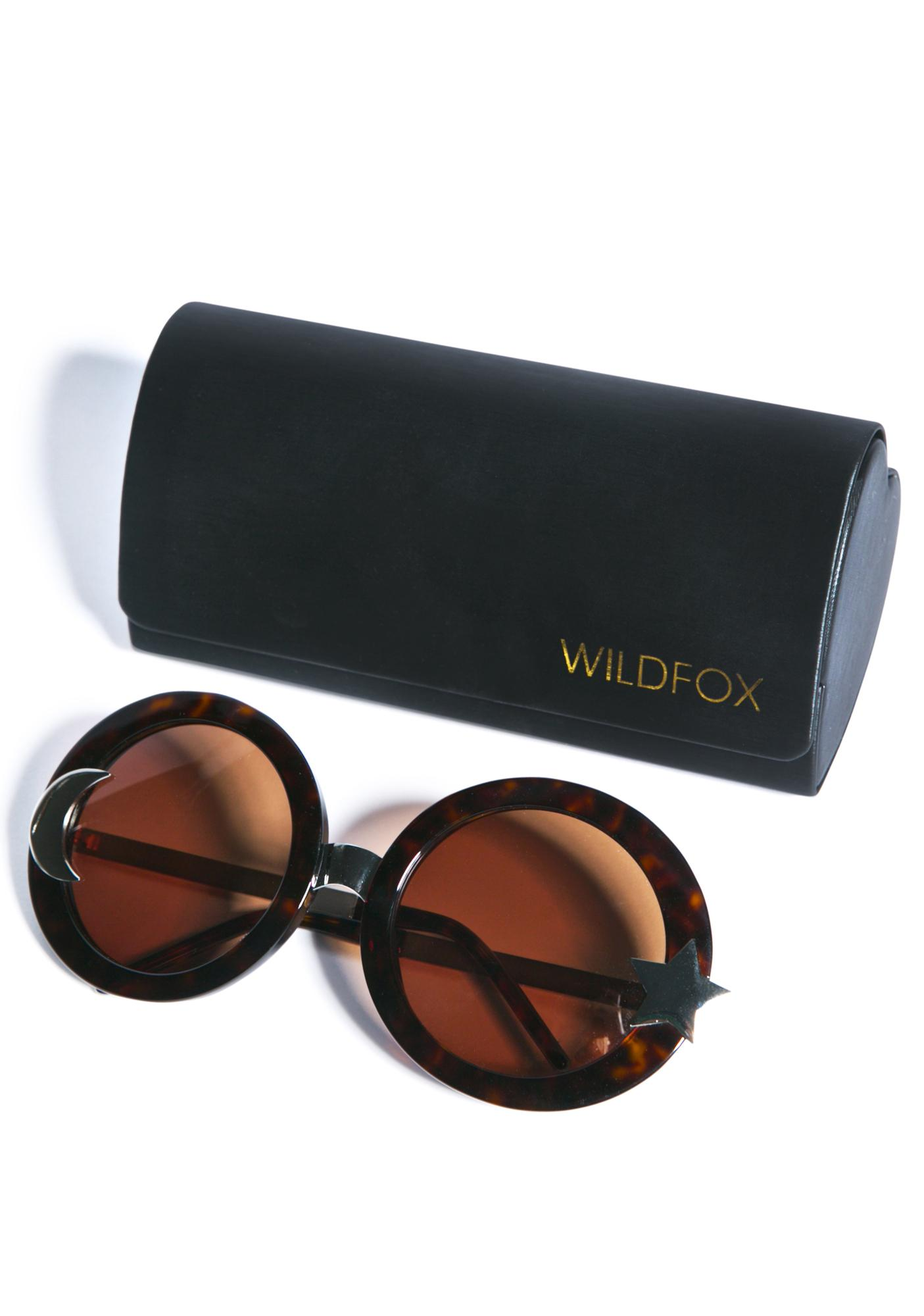d7f76c5b0659 Wildfox Couture Luna Sunglasses | Dolls Kill