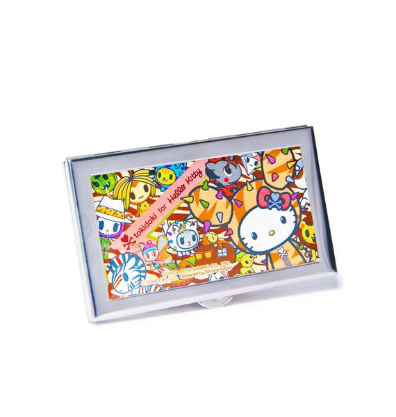 Sanrio Tokidoki X Hello Kitty Summer Safari ID Case
