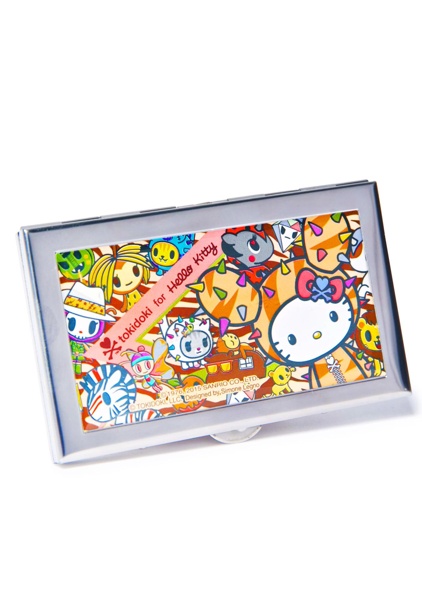 Sanrio Tokidoki X Hello Kitty Summer Safari ID Case