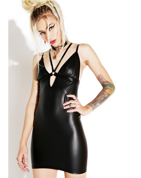 Bomb Harness Mini Dress