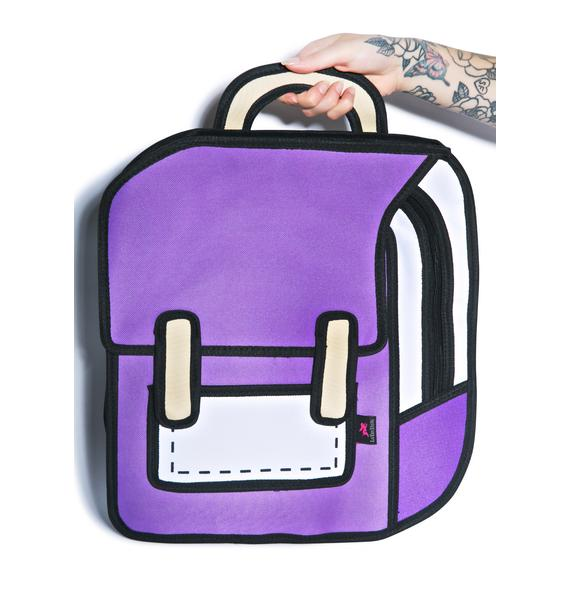 Explorer Cartoon Backpack