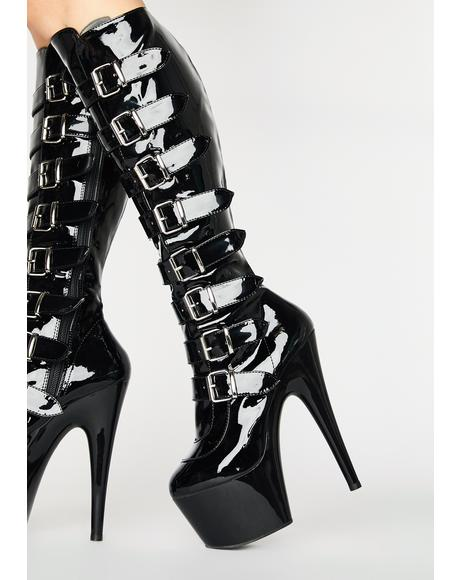 Sultry Obsession Stiletto Boots