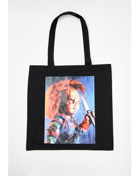 You Are So Dead Tote Bag