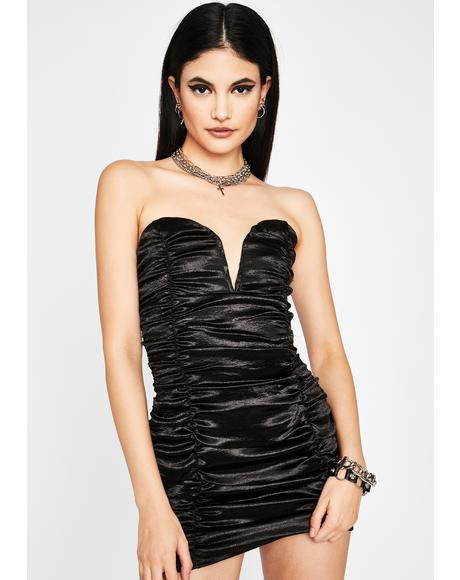 Wicked Diva Dreams Satin Dress
