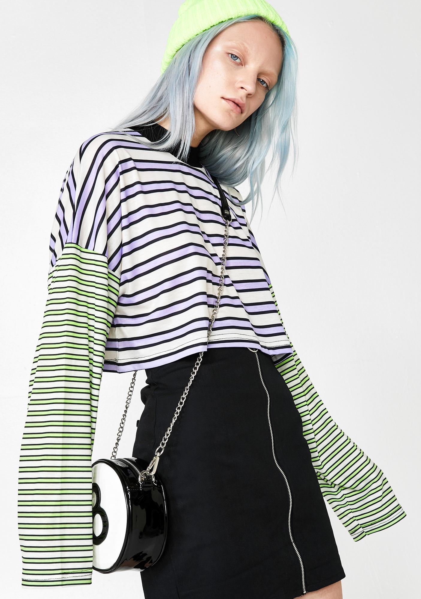 The Ragged Priest Tommy Stripe Tee