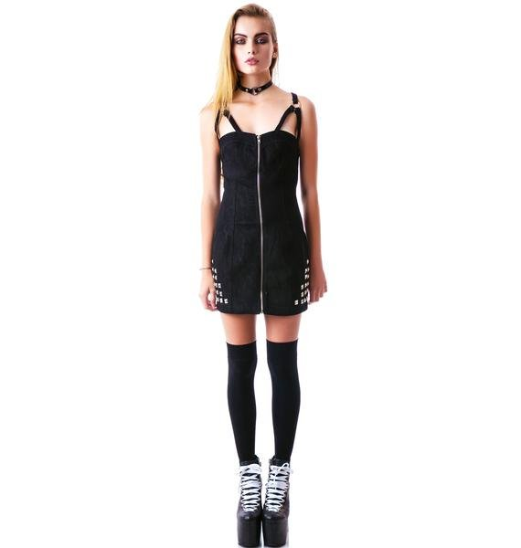 Escape from Hell Studded Dress