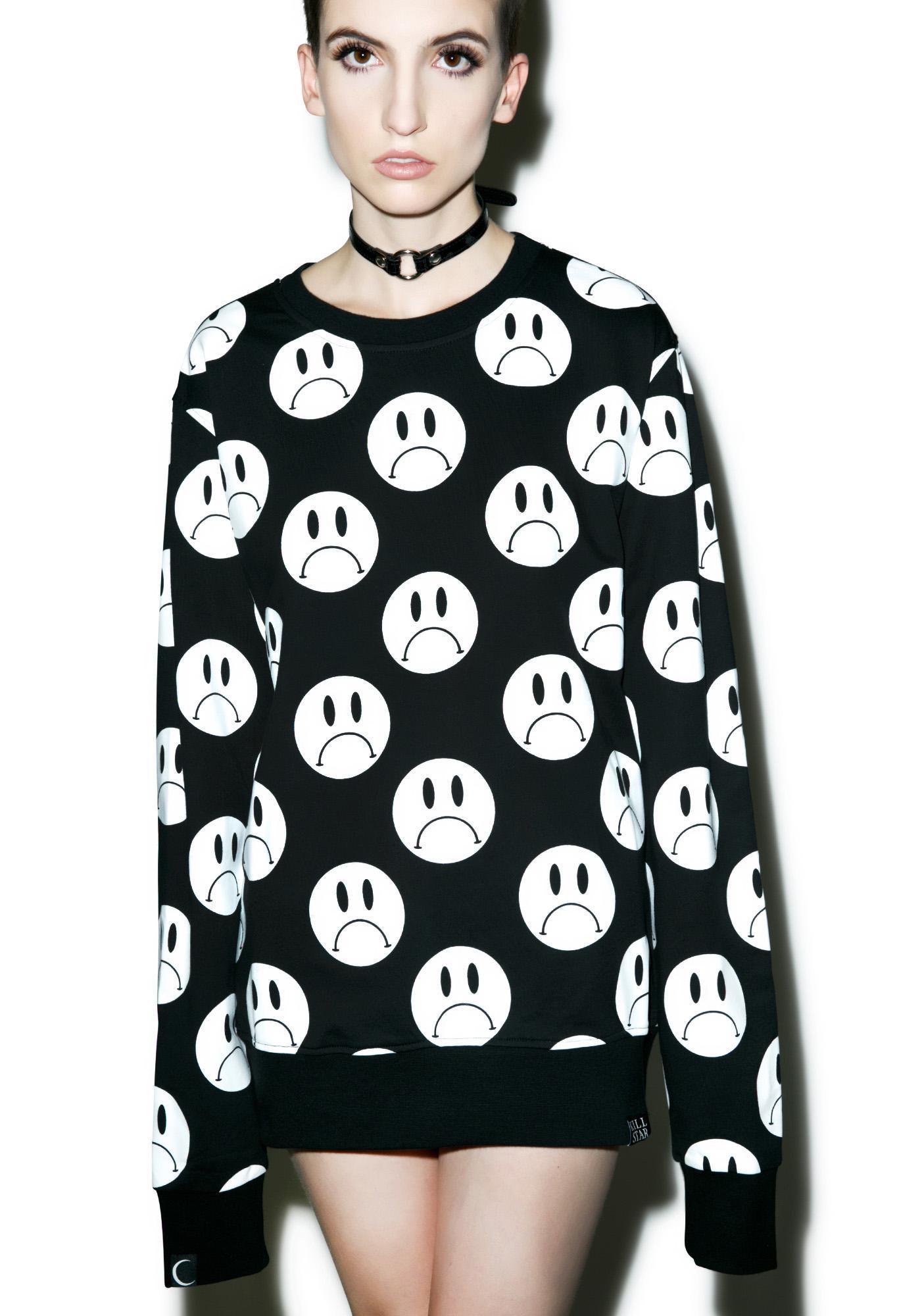 Killstar Sad Sweatshirt
