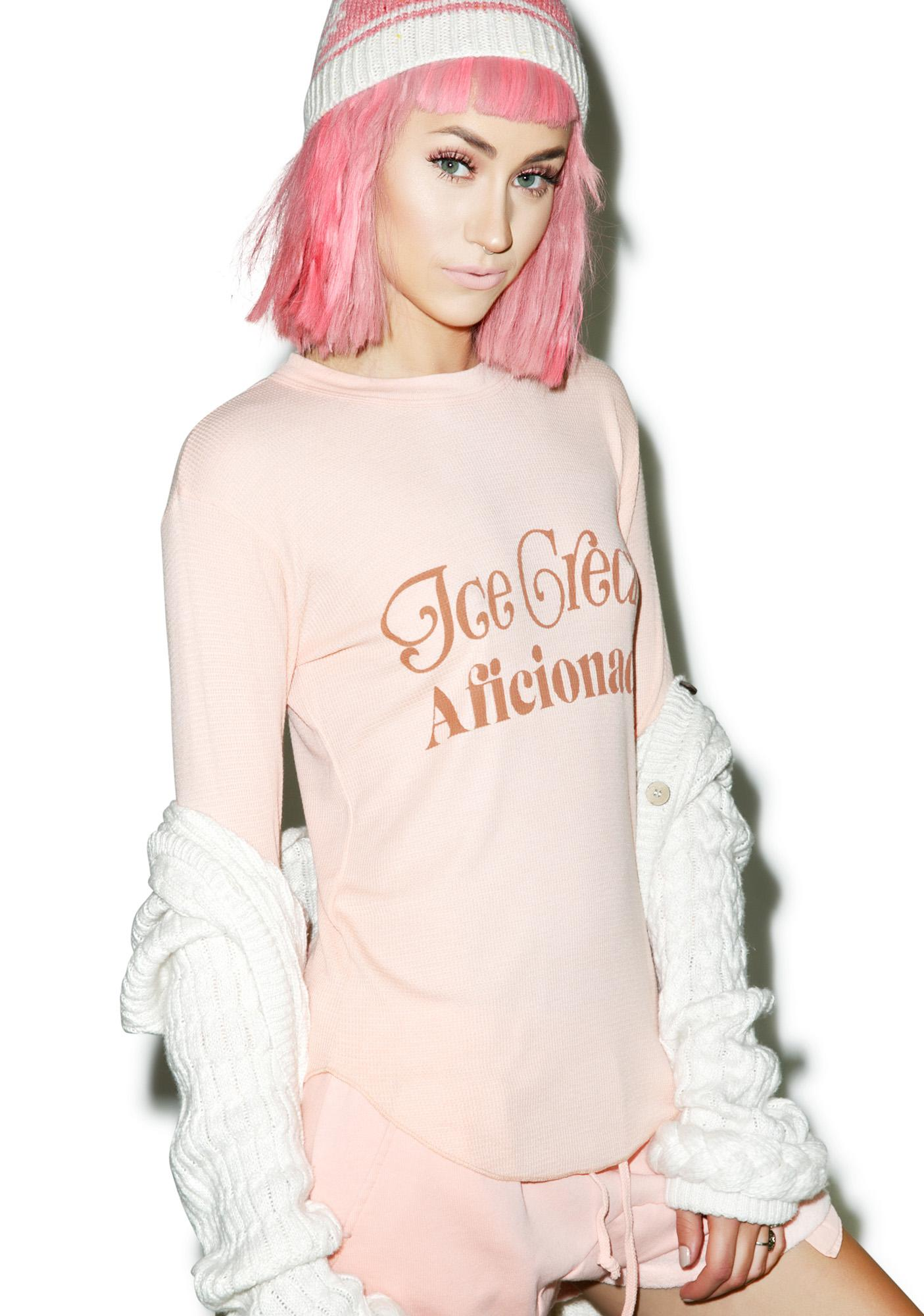 Wildfox Couture Ice Cream Aficionado Girlfriends Thermal