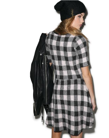 Hit The Slopes Mini Dress
