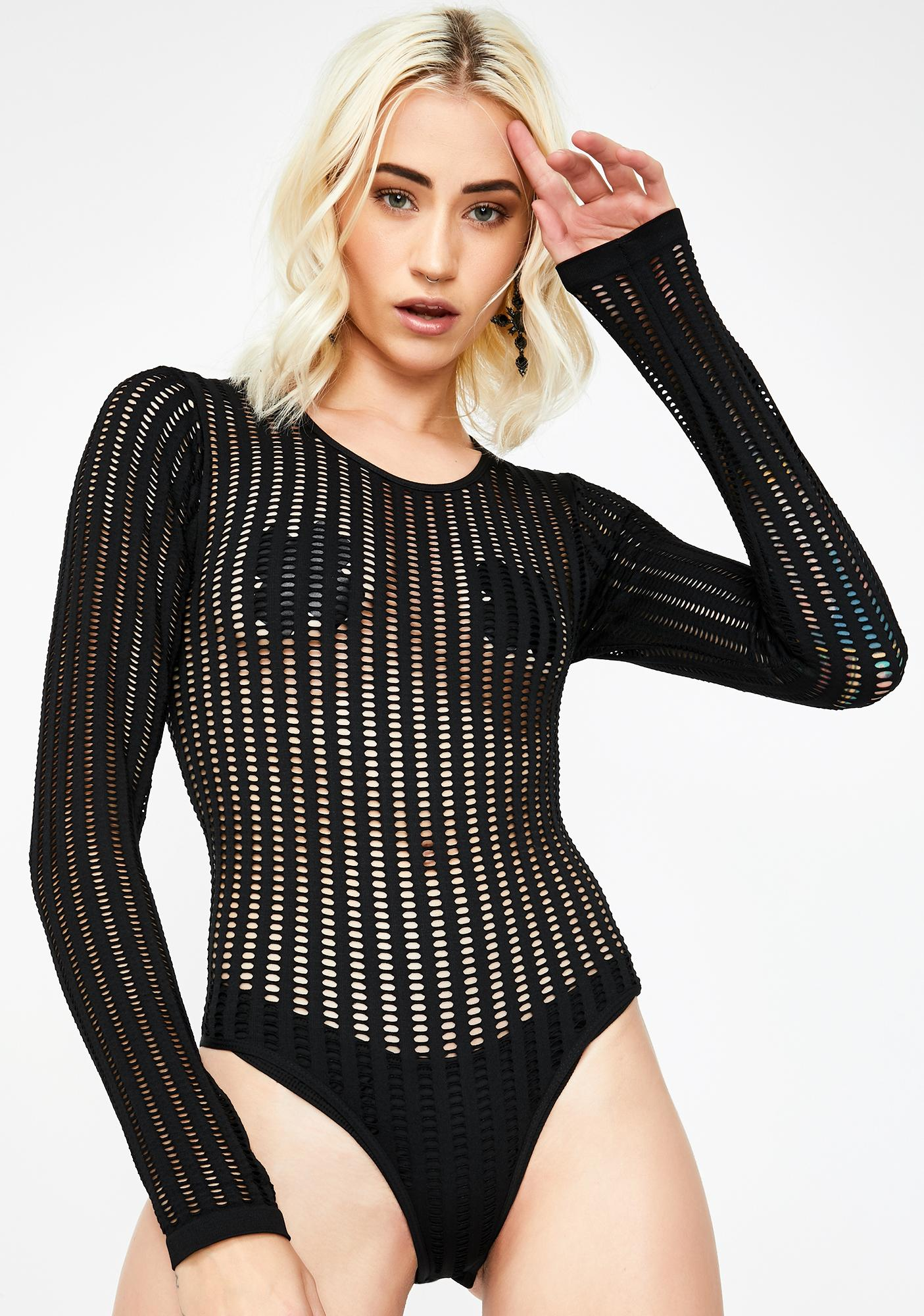 Automatic Lover Long Sleeve Bodysuit