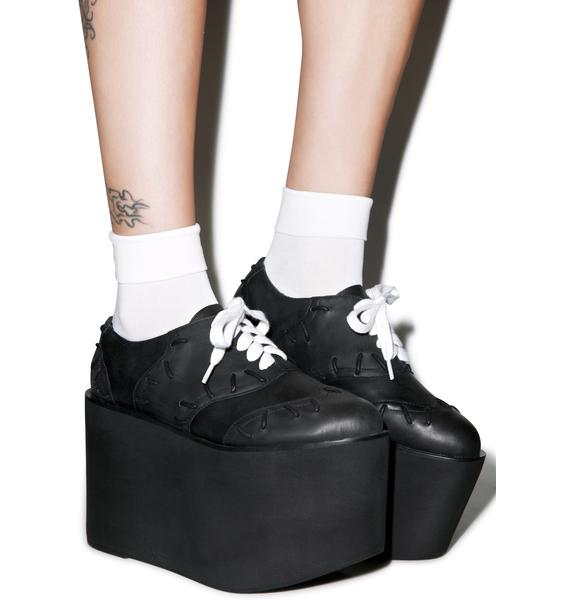 Current Mood Frankie Platform Oxfords