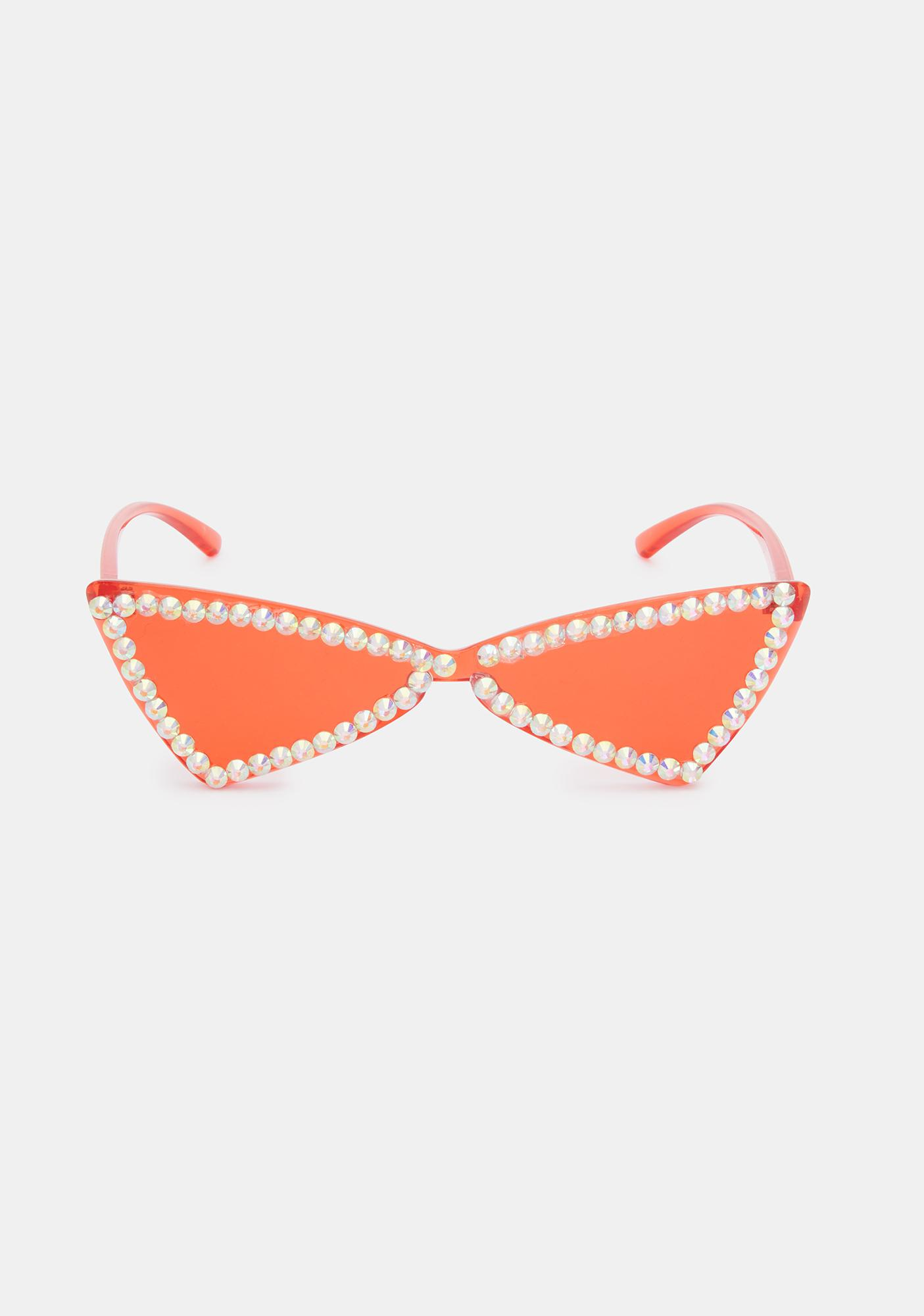 Fire In My Dreams Cat Eye Sunglasses
