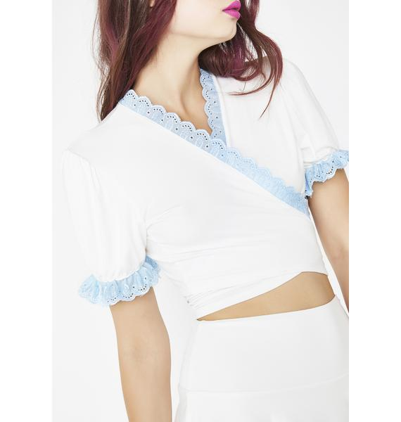 O Mighty Jessica Ruffle Top