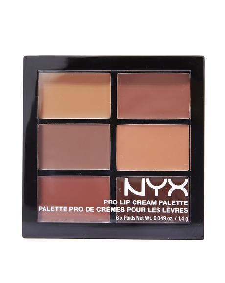 The Nudes Pro Lip Cream Palette
