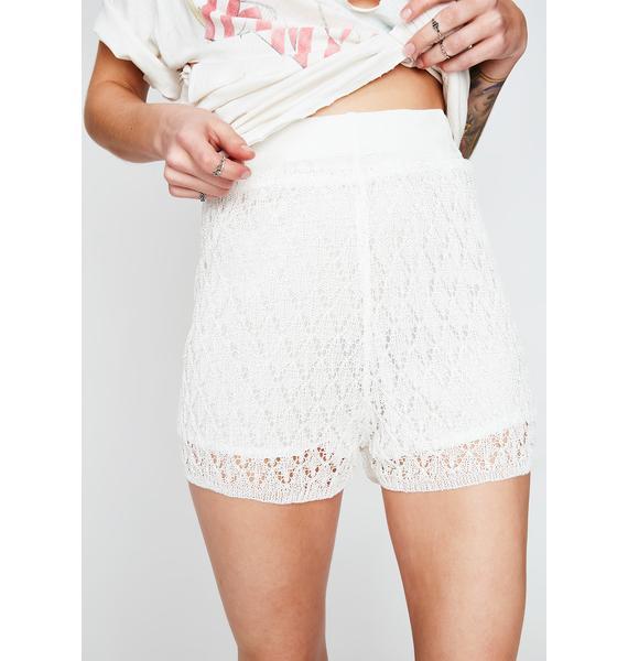Icy Good Feeling Knit Shorts