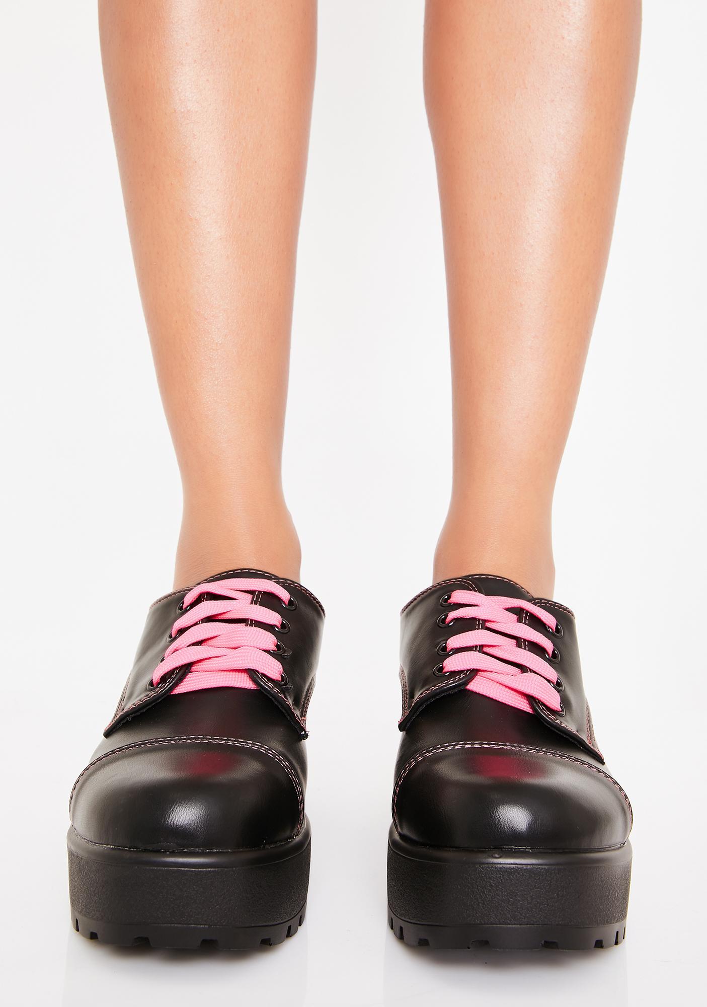 Koi Footwear Ario Platform Oxfords