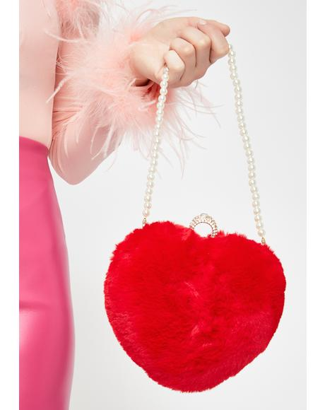Lovely Fate Heart Clutch