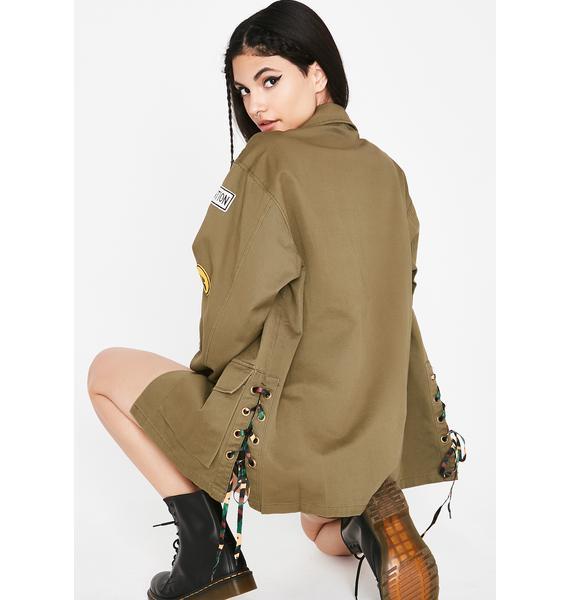 Not Subordinate Military Jacket