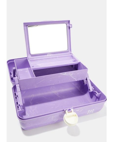 On The Go Girl Purple Caboodle