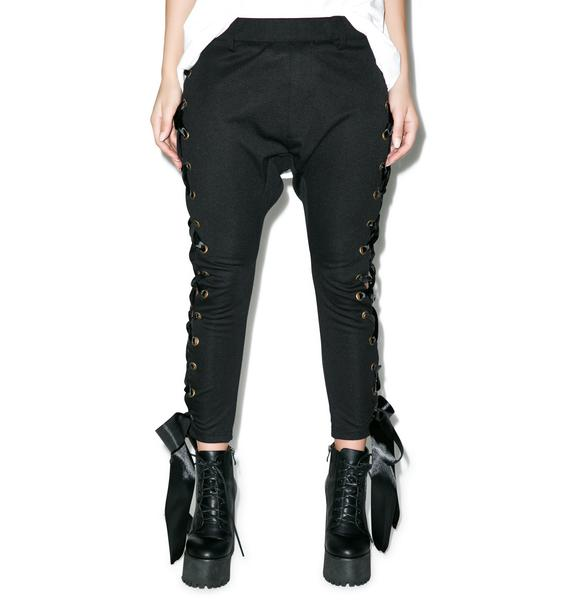 One Teaspoon Black Swan Pants