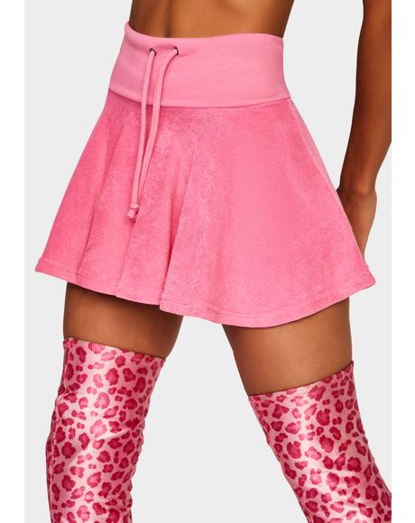 Pink Not Ur School Grl Mini Skirt