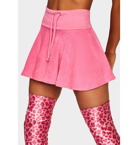 Pink Not Ur School Grl Mini Skirt