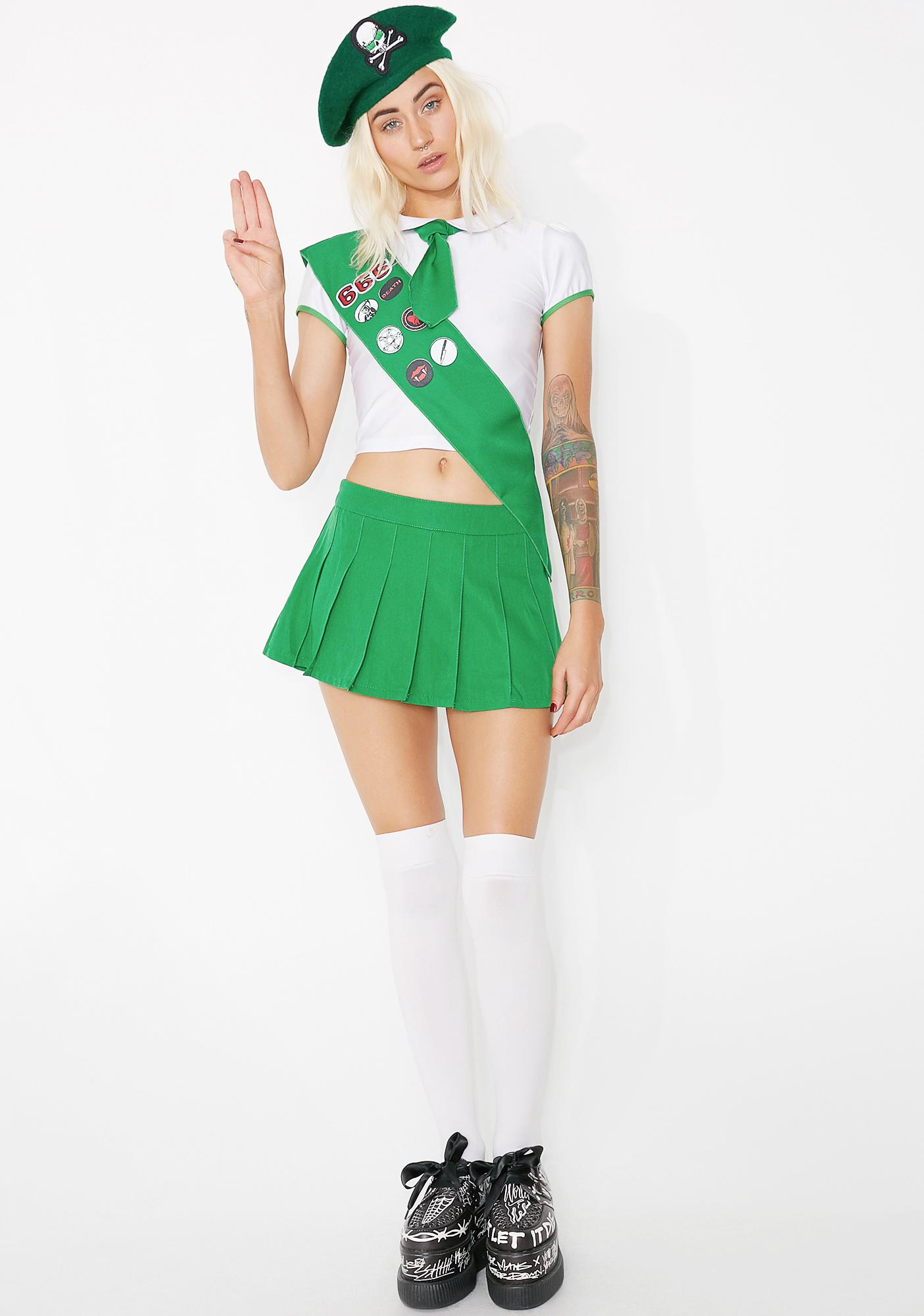 Dolls Kill Hell Scout Costume