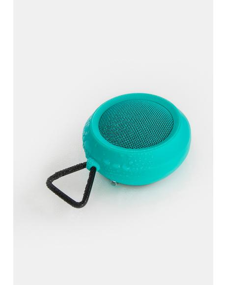 Turquoise Sound Sphere Portable Speaker