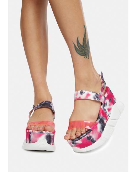 Hustle N Bustle Sneaker Sandals