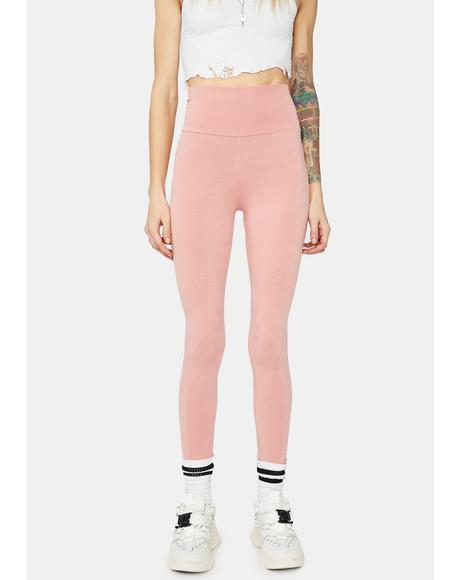 Not A Team Player High Waist Leggings